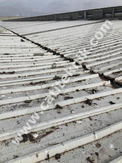 Korozyonlu Paslı Sandviç Panel Çatı Tamiri ve Onarım