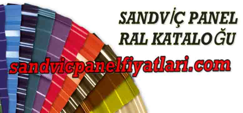 sandviç panel ral